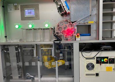 Automatický kontrolní stroj – Checkbox